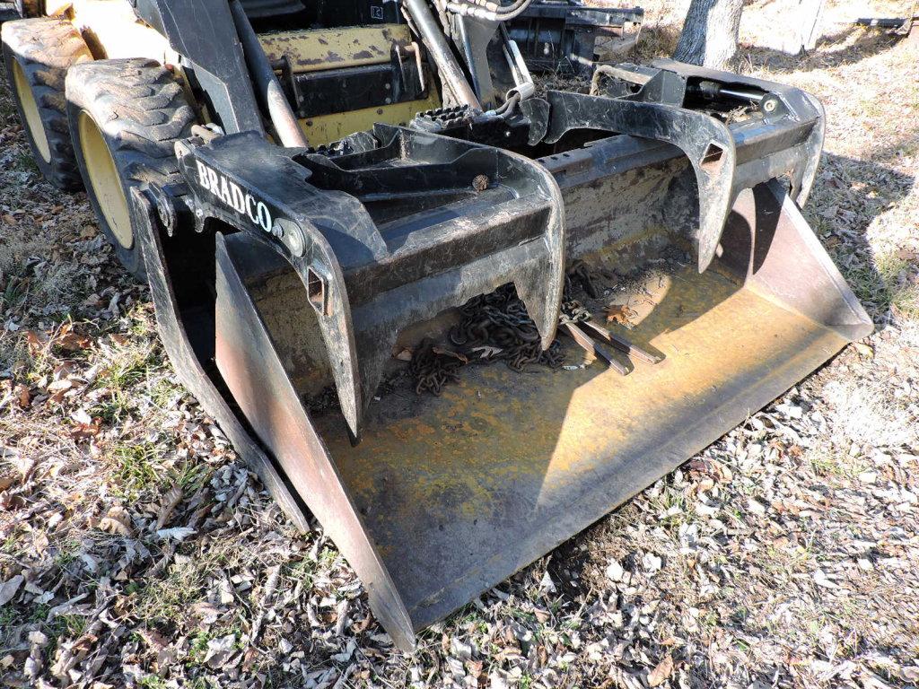 BRADCO Root Rake / Tractor Loader - Model 103606