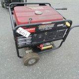 Dayton 6500 Portable Generator - 594 Hours