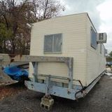 33-FT Office / Site Trailer - Some Damage / No Title