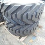 Pair of Outrigger Industrial Tires - JN 445/50D710 - with Rims