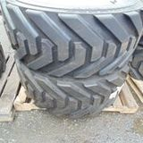 Pair of Outrigger Industrial Tires - JN 445/50D710 - with Rims.