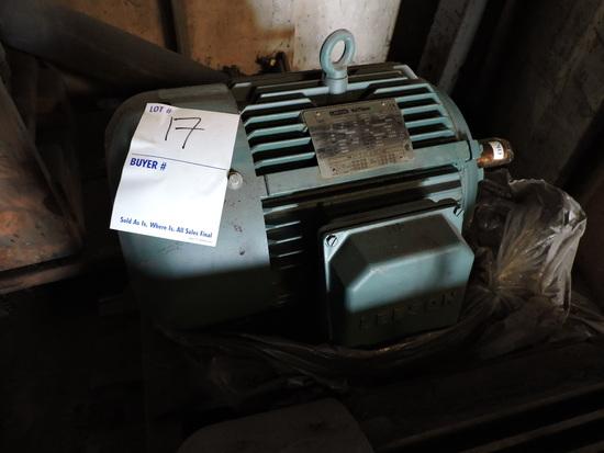 LEESON WATTSaver Industrial Electric Motor