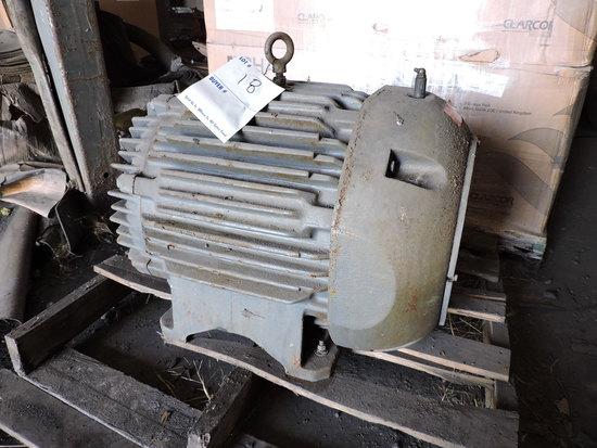 SIEMENS Industrial Electric Motor.