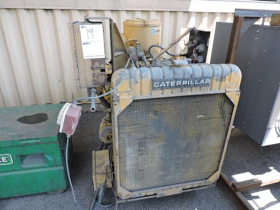 Caterpillar 3208 Diesel Power Unit with 651.8 Original Hours !!!