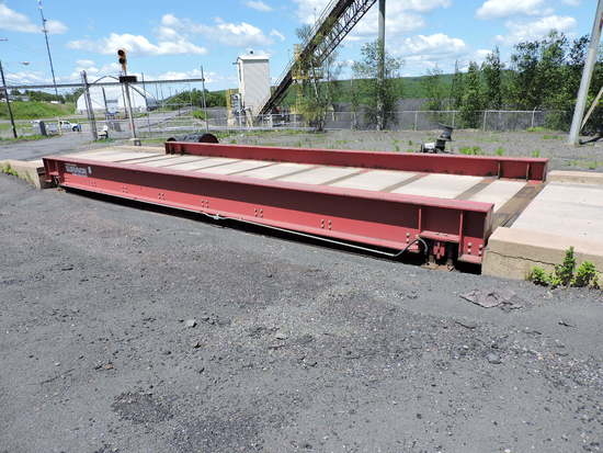 Industrial Truck Scale - Rice Lake Survivor 'SR' - Concrete Deck