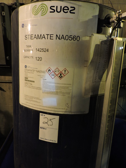 SUEZ Steamate NA0560 Treatment Tank