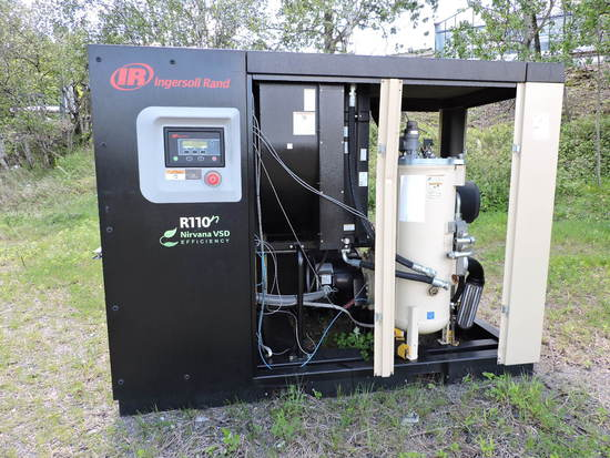 Ingersoll Rand R110 Industrial Air Compressor