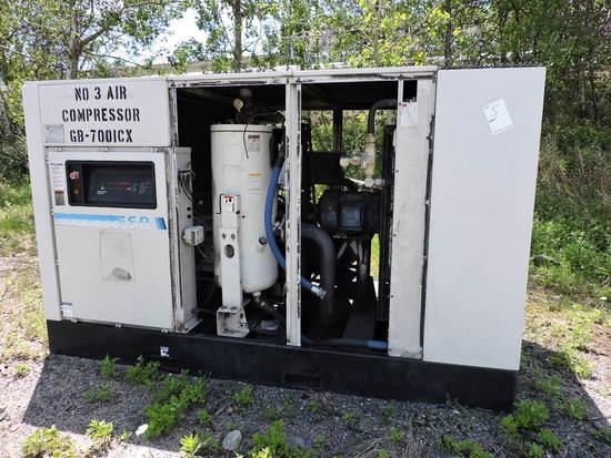 Ingersoll Rand SSR Industrial Air Compressor