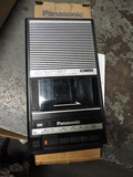 Panasonic Old-School Portable Cassette Tape Player / Recorder -- Used but in Box
