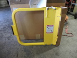 Self Closing Saftey Gate Model LSG-24  YELLOW  QTY:2