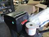 TSC TTP-245C - Desktop Thermal Barcode Label Printer with 9 Rolls of Labels and Accessories