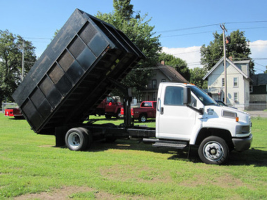 2006 GMC Kodiak 4500 Regular Cab Mason Dump - Very Good Condition