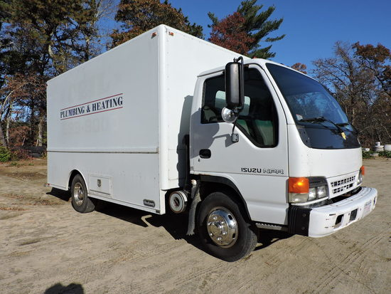 2001 Isuzu NPR Regular-Cab Enclosed Utility Body - Auto
