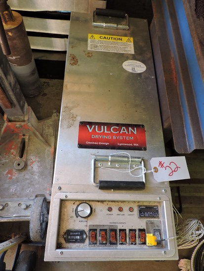 Vulcan Drying System - Model: OVH-230