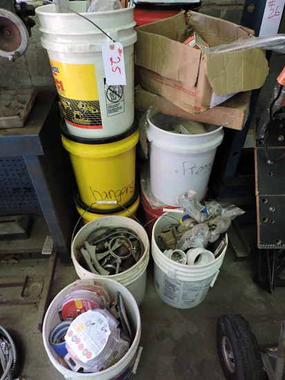 Very Large Lot of Plumbing Supplies - Approx. 14 Buckets