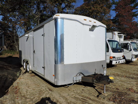 2007 Haulmark Enclosed Cargo Trailer -- 20 Foot -- Note Changes to Description