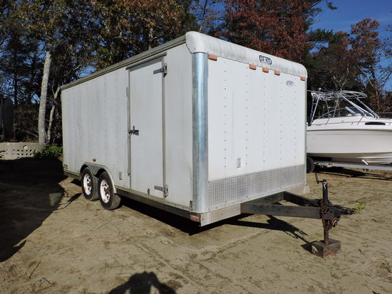 2002 Car Mate Enclosed Cargo Trailer -- 16-Foot -- Note Changes to Description