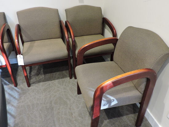 Set of 4 Waiting Room Chairs