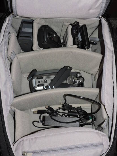 DJI MAVIC PRO Quad-Copter Drone - Complete Kit with Backpack-Case.
