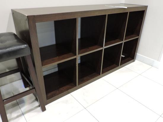"""Modern Wooden Bookcase  60"""" X 15.25"""" X 31"""""""