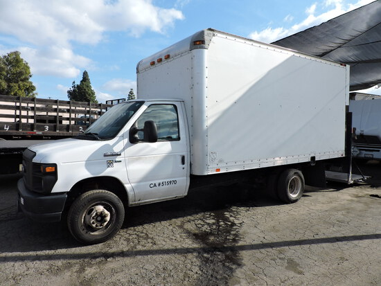 2015 Ford E350 Box Truck with a 14-Foot SUPREME Box - with Approx. 84,000 Miles.