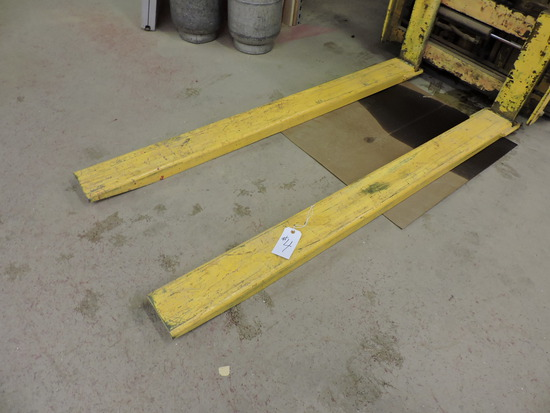 Pair of Forklift Extensions- 6 ft