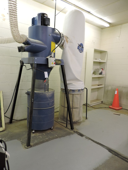Oliver Machine Co. - Industrial / Commercial - 7150 CYCLONE Dust Colector System