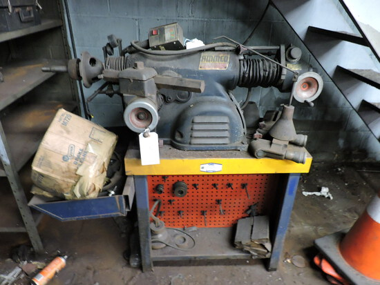 AAMCO Brake Lathe with Misc. Attachements - Needs Work