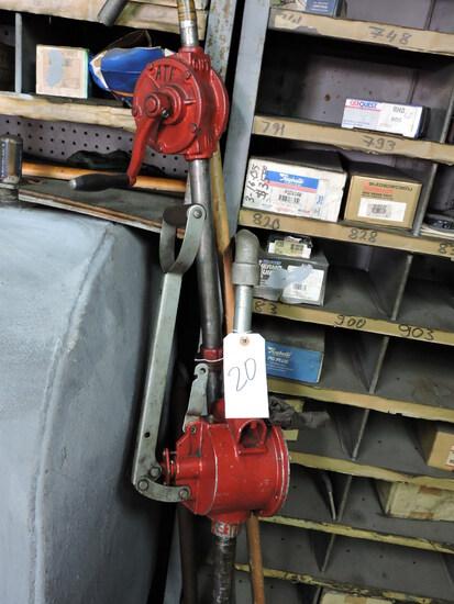 Pair of Oil Drum Pumps - Manual