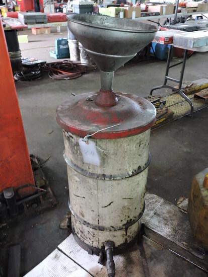 Telescoping Waste Oil (oil change) Drum