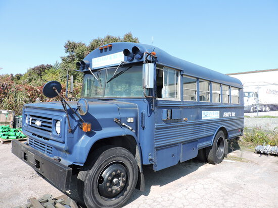 1989 Chevrolet / Thomas School Bus - Diesel