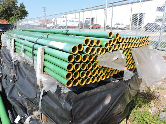 "Cast iron HUBLESS Pipe - 10 Ft Length - 1.5"" Diameter -- 240 Pieces"