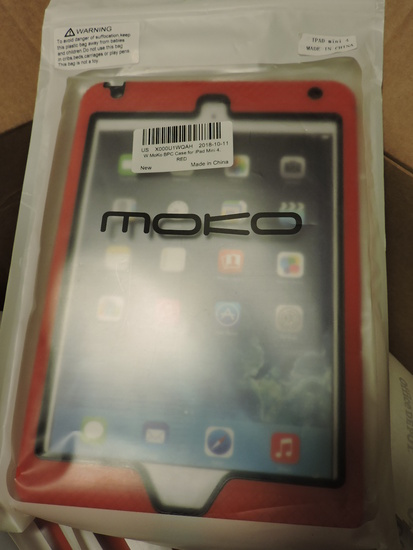 Lot of Approx. 11 MOKO Brand Cases for iPad Mini 4 - NEW