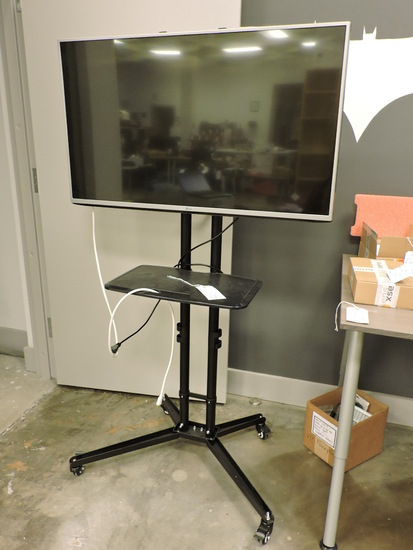 "43"" Diag. LG Brand TV / Monitor - Model: 43LF5400 on Industrial Stand"