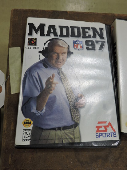 EA SPORTS Madden 1997 - SEGA Genesis Game