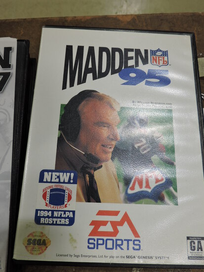 EA SPORTS - Madden 95 - SEGA Genesis Game