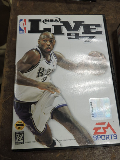 EA SPORTS - NBA LIVE 97 - SEGA Genesis Game
