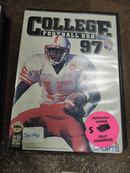 EA SPORTS - College Football USA 97 - SEGA Genesis Game