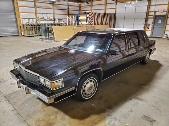 1986 Cadillac Fleetwood '75' Limousine - Black with Black - 1 Private Owner Since New
