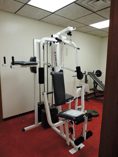 WEIDER Brand PRO 9635 4-Station Universal Home Gym System