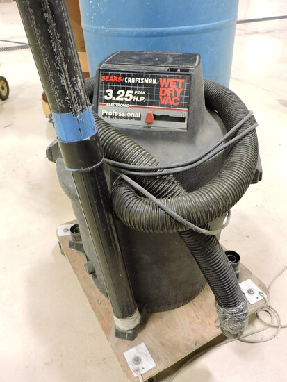 CRAFTSMAN 3.25HP WET / DRY VAC with Custom Base