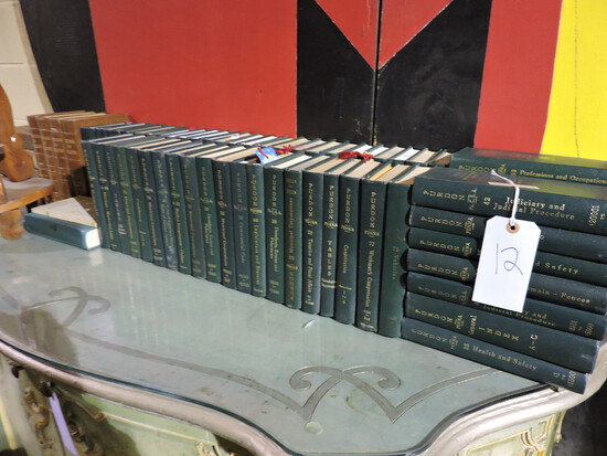 Large Lot of Law Books / Mostly Pennsylvania Law - Approx. 69