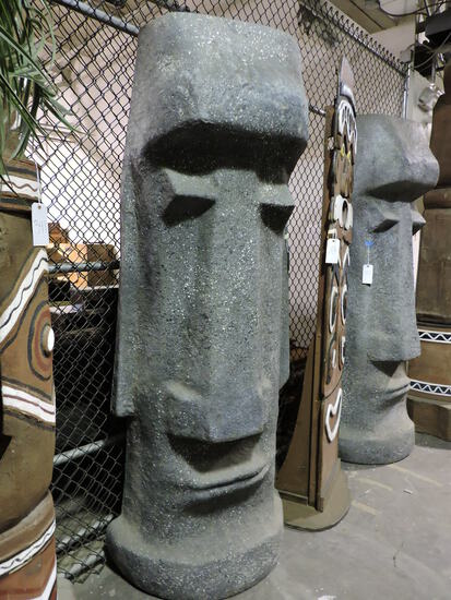 Easter Island Head Replica - Fiberglass
