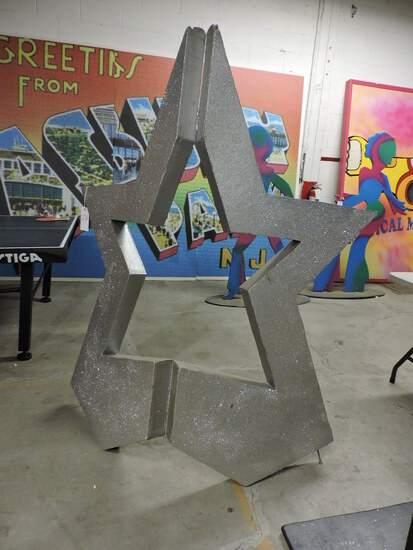Huge Decorative STAR / Free-Standing