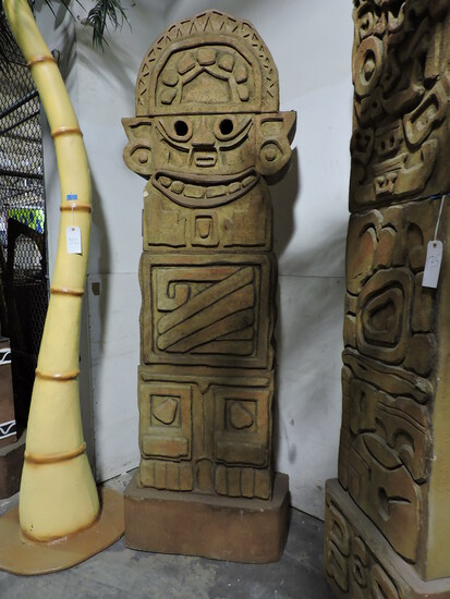 Mayan Statue Replica - Faux / Replica