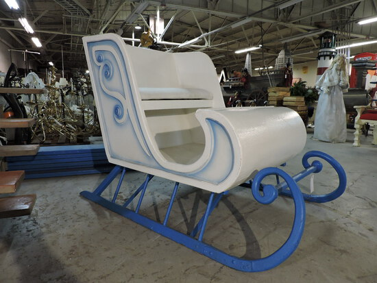 'FROZEN - Themed' Prop Sleigh - Wood