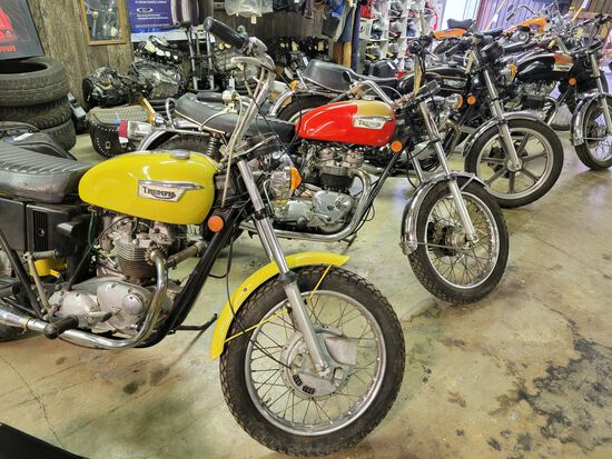 ESTATE AUCTION - 60 Yr Old Motorcycle Dealership