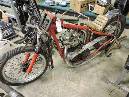 BSA Custom Drag Bike - Late 50's / Early 60's - Incomplete - See Photos