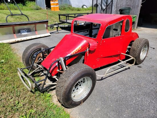 DWARF RACE CAR - 5/8th Scale 1932 Ford Coupe Appearance