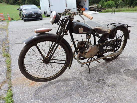 1940-ish 'INDIAN / JAMES?' Motorbike - Single Cylinder -- READ DESCRIPTION !!!